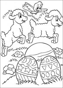 kleurplaat Pasen (61)
