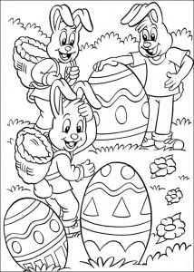 kleurplaat Pasen (67)