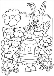 kleurplaat Pasen (68)