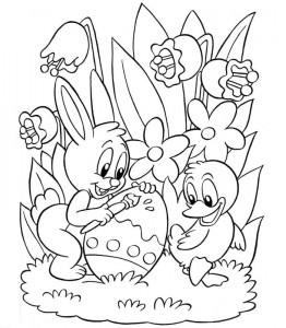 kleurplaat Pasen (8)