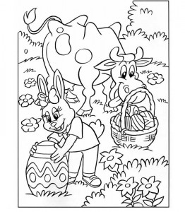 χρωματίζοντας σελίδα Πάσχα (9)