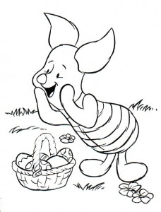 coloring page Easter with Disney (12)
