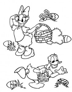 kleurplaat Pasen met Disney (15)