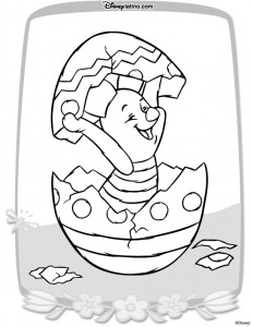 coloring page Easter with Disney (3)