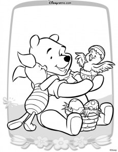 coloring page Easter with Disney (4)