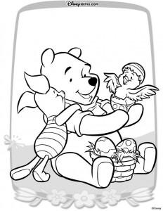 kleurplaat Pasen met Disney (4)