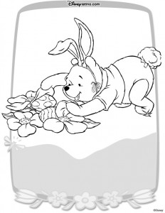 coloring page Easter with Disney (8)
