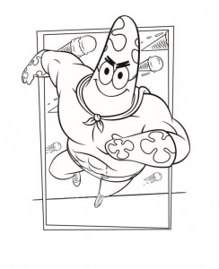 coloring page patrick (1)