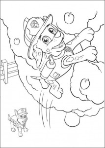 coloring page Paw Control (12)
