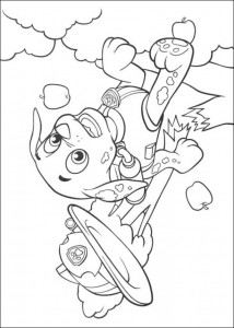 coloring page Paw Control (13)