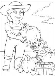 coloring page Paw Control (15)