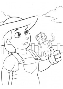 coloring page Paw Control (16)