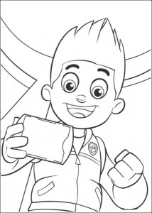 coloring page Paw Control (21)