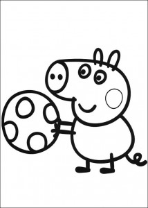 coloring page Peppa (1)