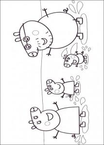målarbok Peppa Pig