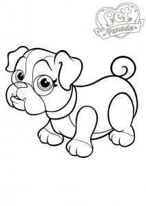 coloring page Pet parade (1)