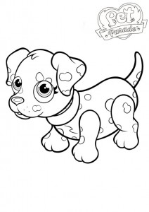 coloring page Pet parade (2)