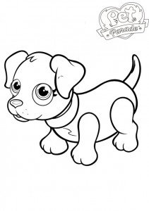 coloring page Pet parade (4)
