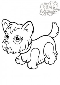 coloring page Pet parade (5)