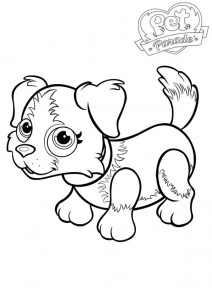 coloring page Pet parade