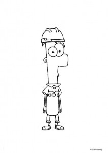 coloring page Phineas and ferb (14)