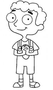 målarbok Phineas och Ferb (3)