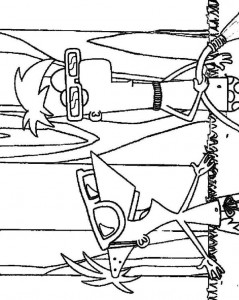 coloring page Phineas and Ferb (5)