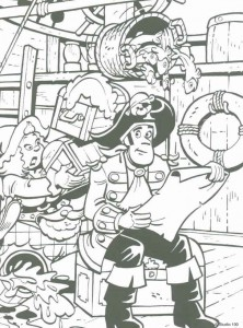 coloring page Piet Pirate (2)