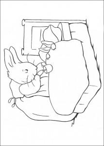coloring page Pieter Konijn (11)