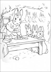 coloring page Pieter Konijn (20)