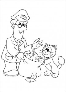 coloring page Pieter Post (1)