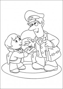 coloring page Pieter Post (11)