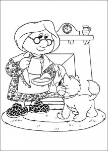 coloring page Pieter Post (12)