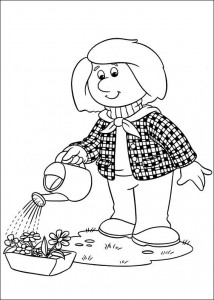 coloring page Pieter Post (13)