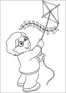 coloring page Pieter Post (14)