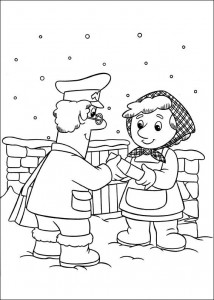coloring page Pieter Post (16)