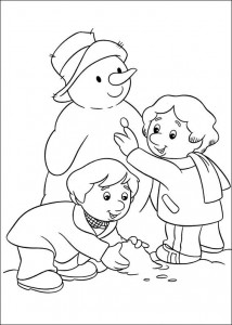 coloring page Pieter Post (17)