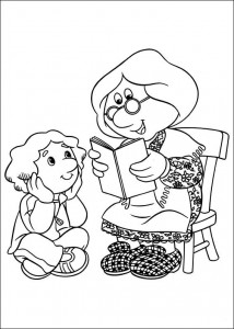 coloring page Pieter Post (18)