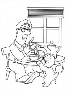 coloring page Pieter Post (2)