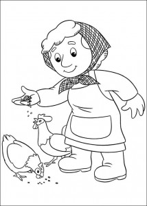 coloring page Pieter Post (20)