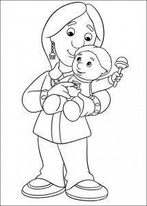 coloring page Pieter Post (22)