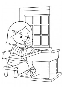 coloring page Pieter Post (24)