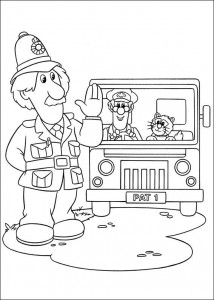 coloring page Pieter Post (25)