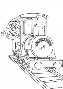 coloring page Pieter Post (3)