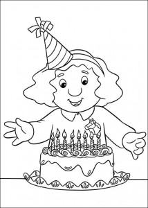 coloring page Pieter Post (5)