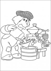 coloring page Pieter Post (6)