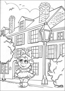 coloring page Piggy