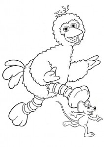 coloring page Pino og Ieniemienie