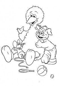 coloring page Pino, Tommy and Ieniemienie