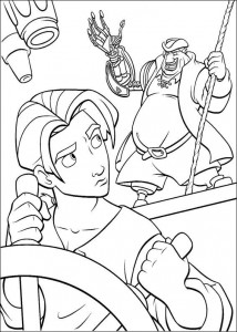 coloring page Pirate planet (1)
